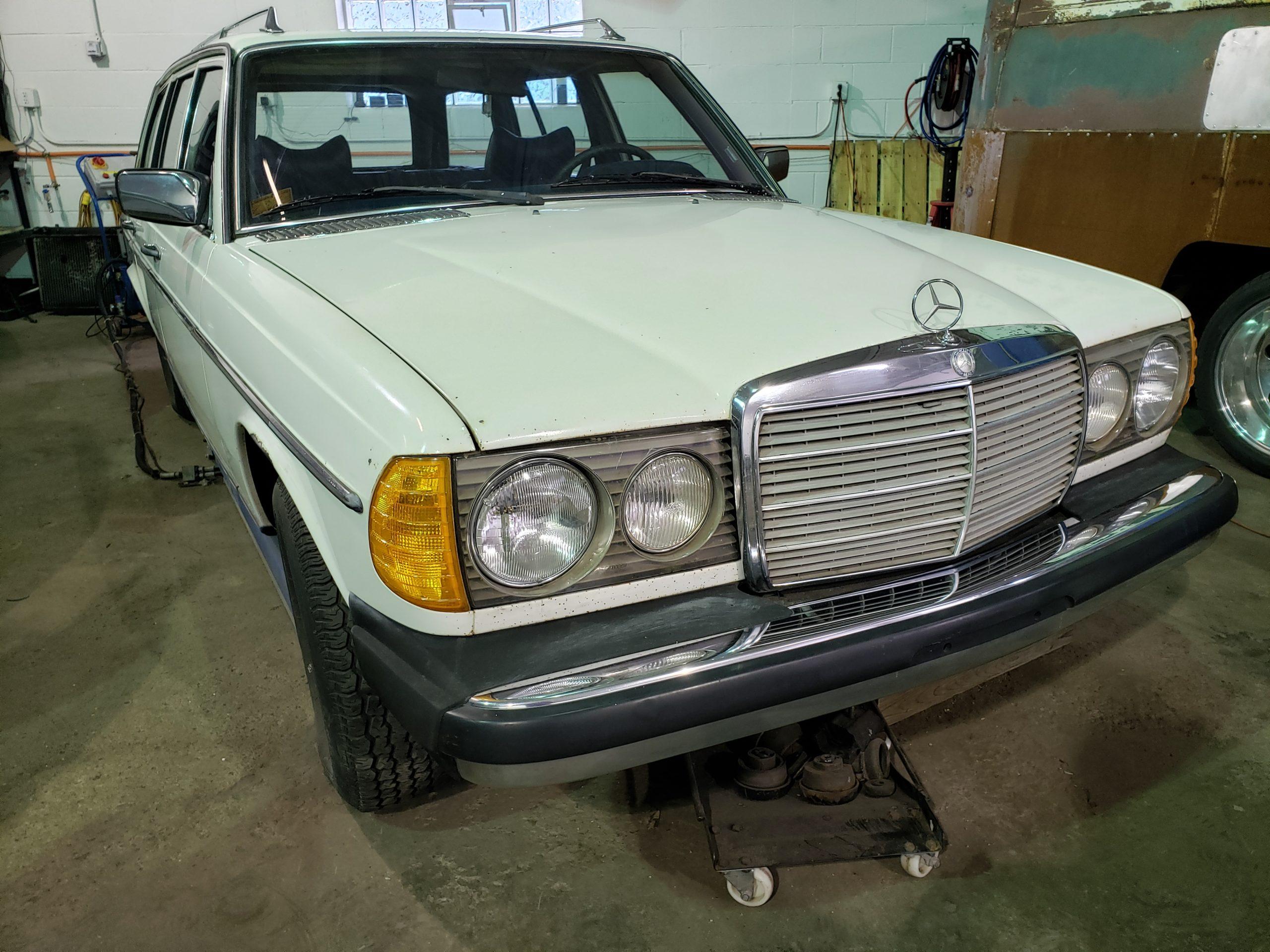 Mercedes 300tdi Classic Car Restoration