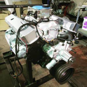 Vantasim 318 engine build