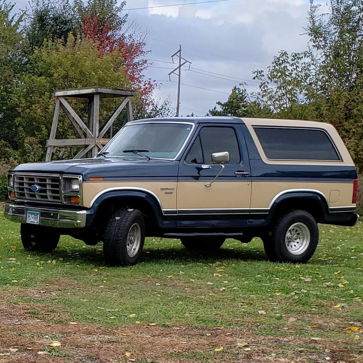 Ford Bronco classic car restoration