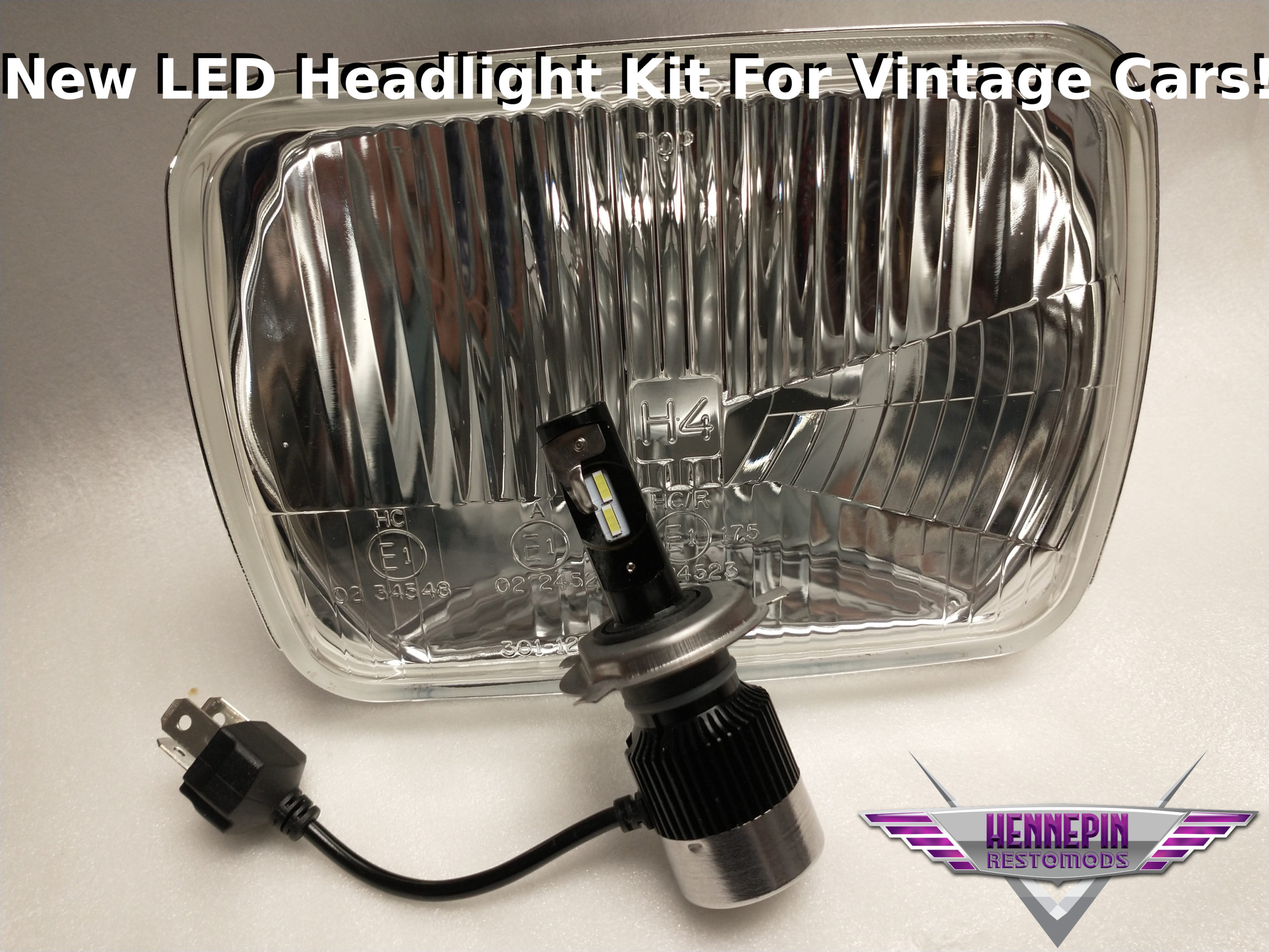 New LED classic car headlights kit for vintage cars