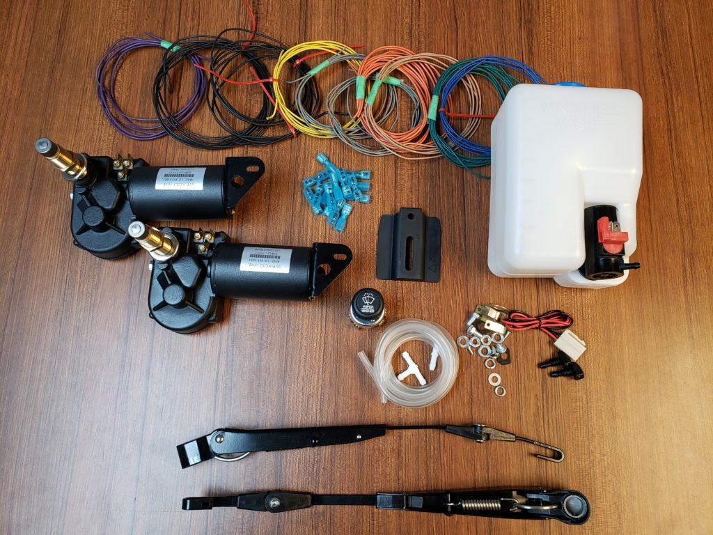 Kit dual motor simple arms