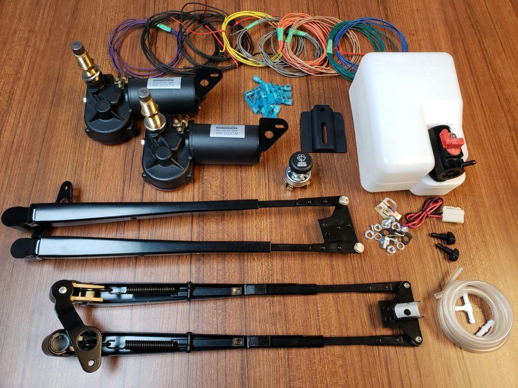 kit dual motor parallel arms 2