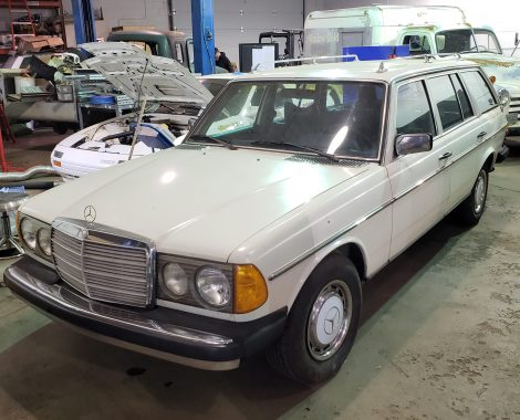 Mercedes 300TD refresh